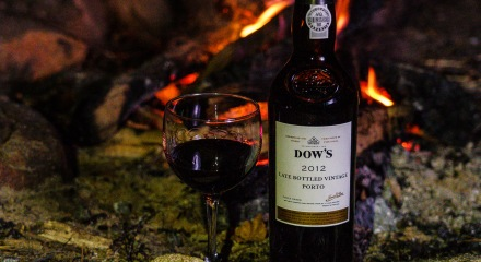 Dow's LBV Porto 2012 at the campfire