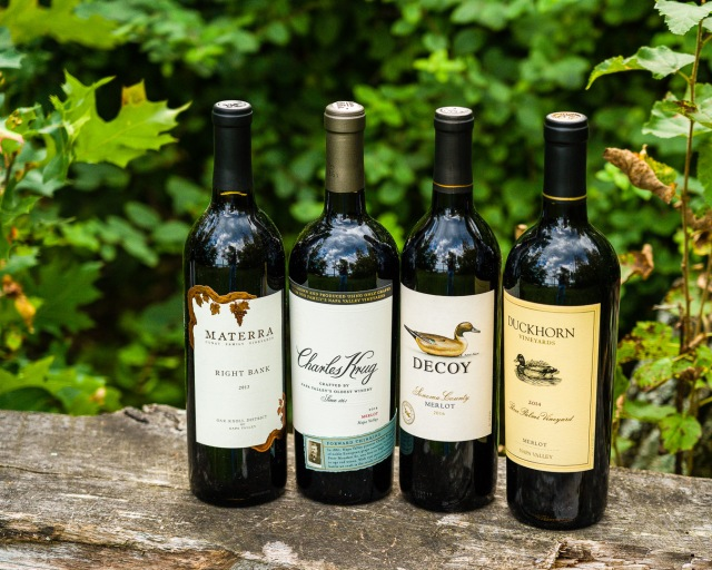 California Merlot wines for #MerlotMe