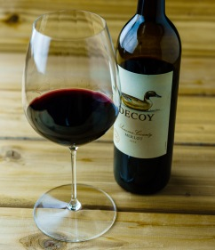 Riedel Performance Cabernet / Merlot glass with Decoy Merlot