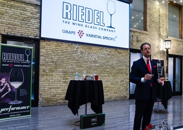 Riedel Wine Glass Seminar with Maximilian Riedel