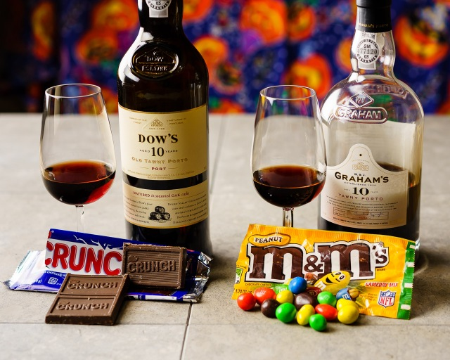 Halloween treats and 10 year tawny porto