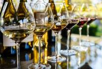 Take your time enjoying the full range of wines.
