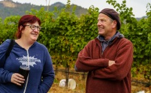 Fellow blogger, Thea Dwelle, and I had the opportunity to chat with Steve Hall, the head winemaker.