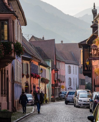 Alsace villages are beautiful at every turn.