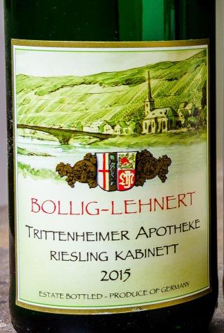 Bollig-Lehnert Riesling label