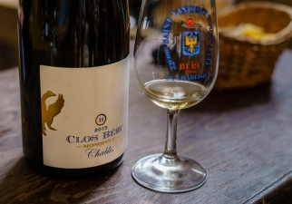 The proof is in the glass, we loved the Clos Beru wines.
