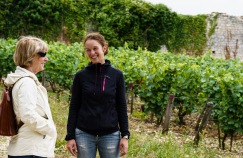 Gaelle is one of the viticulture and winemaking staff at Château de Béru. She gave us a great tour and told us all about their biodynamic approach