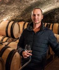 Thibaud took me all through the cellars at Domaine Morey-Coffinet