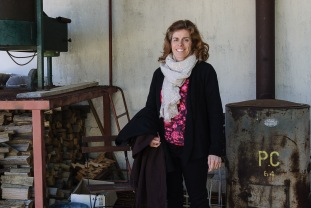 Caroline has worked at Chateau Fonroque since 2002, she was a knowledgable guide!