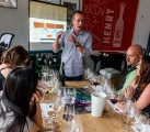 Martin di Stefano, a winemaker from Zuccardi Wines explained the geology of their vineyards.