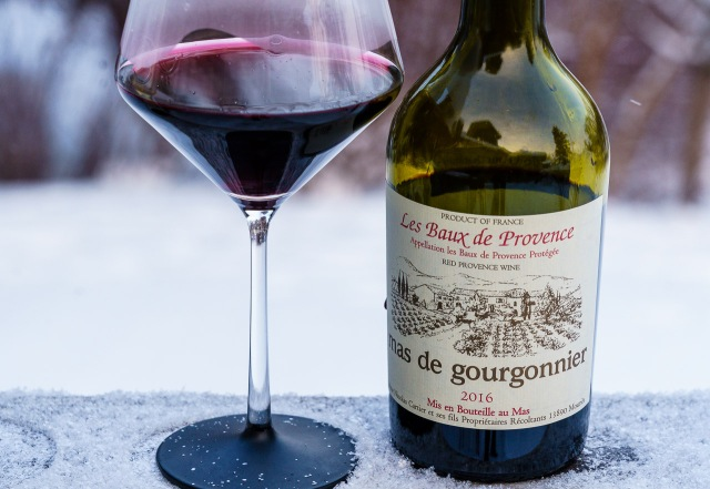 6299f35e1c6 Mas de Gourgonnier Les Baux de Provence AOP 2016 13%abv ( 20 at South  Lyndale Liquors or online here) Eye  Slightly hazy deep intensity ruby with  a cool ...
