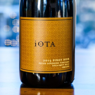 At $42, iOTA Cellars single vineyard Pinot Noir is above the budget, but well worth tasting. Our new tasters enjoyed the purity of the fruit, complex aromas and polished finish.