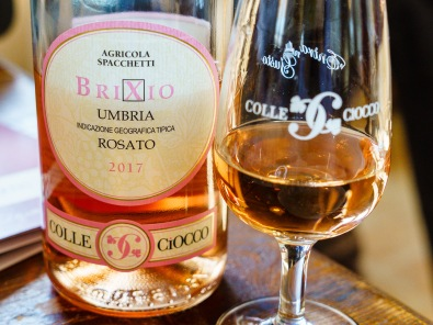 Rosato at Colle Ciocco