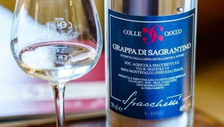 Grappa is such a classic digestif in Italy.