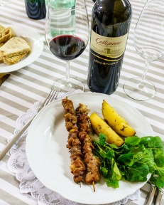 Even a young Sagrantino is delicious with grilled meat