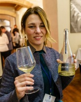 Giusy Moretti, the young winemaker with her sparkling Spoletino