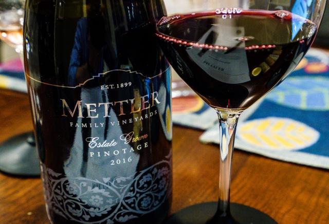 Mettler Family Vineyards Estate Grown Pinotage red wine from Lodi California2016