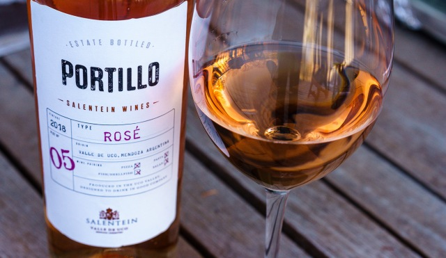 Rosé wine from Argentina