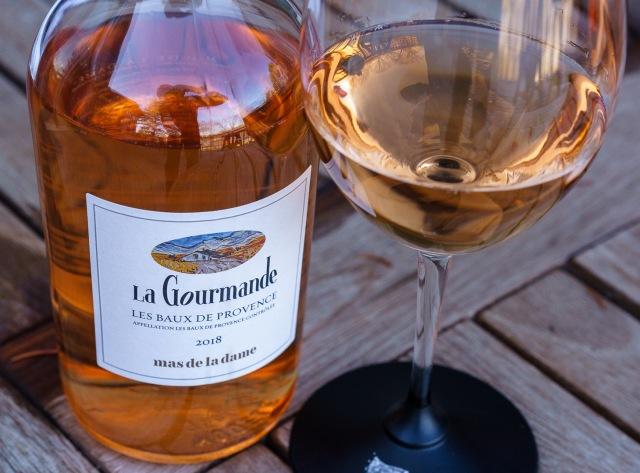 classic Provençal rosé wine