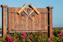 We had an early morning visit to Michael David during harvest
