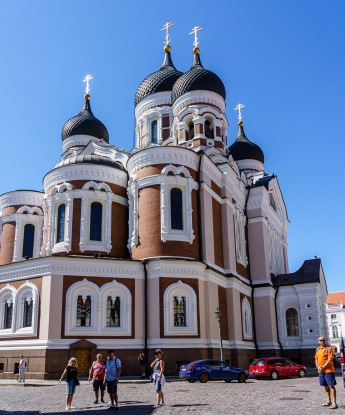 The Baltic region features a variety of religions, all with their ornate churches