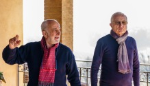 Eliseo and Lamberto Spacchetti, brothers who run the winery