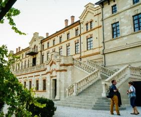 Beautiful facade of Castel Mimi