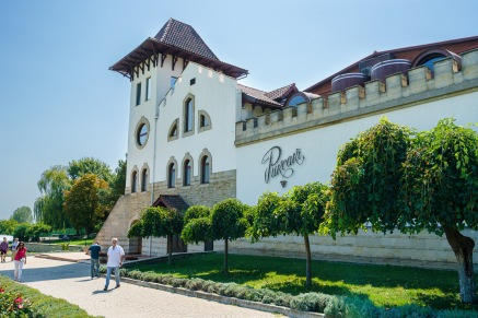 In operation since 1827, Chateau Purcari is the largest producer in Moldova today