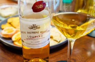 "The ""Cuvée d'Or du Château Dauphiné-Rondillon"" is a noble late harvest wine. Made of 80% Semillon and 20% Sauvignon Blanc, the botrysized grapes are harvested in multiple passes, then vinified and matured in barrels."