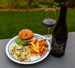 Malbec is a solid burger choice, whether from France (Cahors) or Argentina