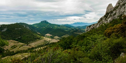 Beautiful hiking in the Dentelles, only a short distance from Rasteau