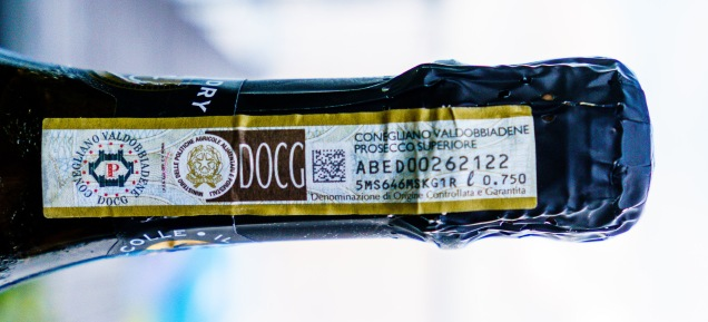 DOC and DOCG labels are tax stamps. The winery can only purchase a specified number of stamps related to how much land they have under vine in the DOC / DOCG.