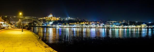 View from Porto to the Port Houses in Vila Nova de Gaia