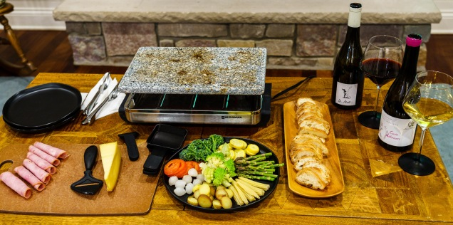 Preheat your raclette maker (or fire up your broiler)