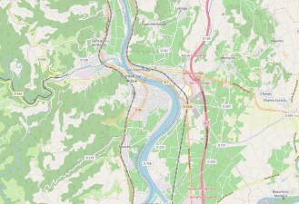 Find Tain l'Hermitage, Tournon, Mauves, Crozes-Hermitag. Map courtesy of freecountrymaps.com