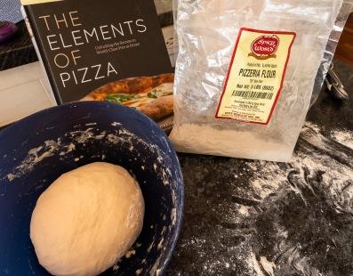Start the dough at 9:00am for dinnertime pizza