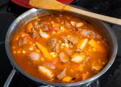 Day two - pot roast soup