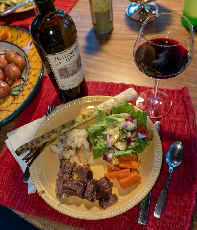 Merlot is a perfect choice for pot roast