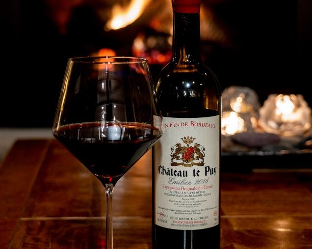 """Château Le Puy flagship wine """"Emilien"""" Francs Côtes de Bordeaux"""